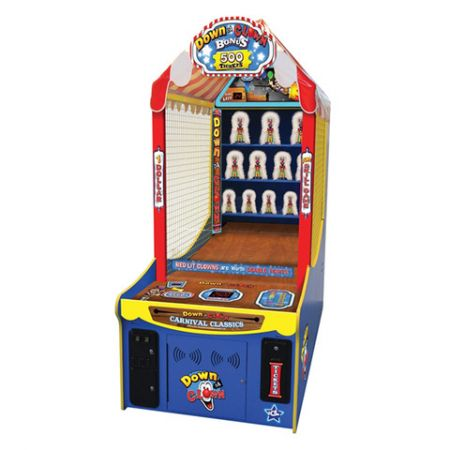 down the clown redemption arcade game ice games image2